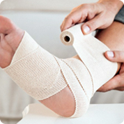 treatment and pain relief for ankle sprains
